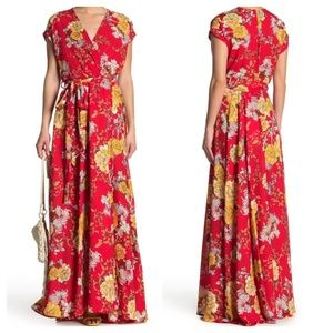 NWOT Meghan LA - Floral Maxi Dress